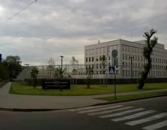 Robbanószerkezetet dobtak a kijevi amerikai követség udvarára