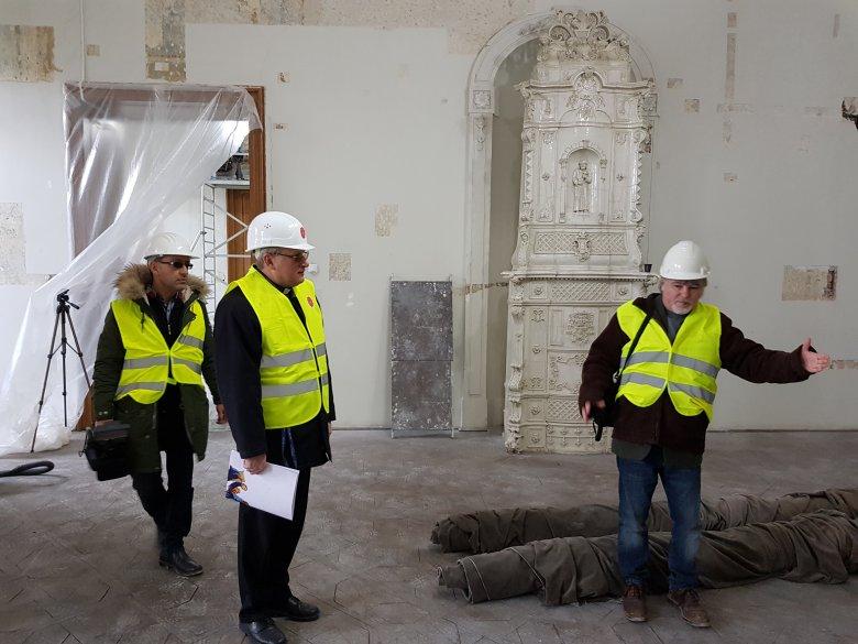 Barokk kori időutazás a felújítás alatt álló nagyváradi püspöki palotában