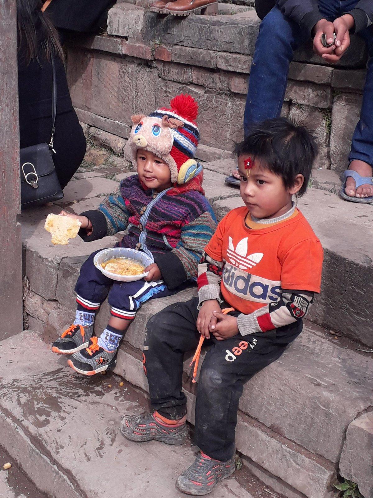 Durbar tér, Katmandu •  Fotó: Kiss Judit