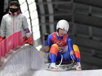 """""""Becsúszott"""" egy román bravúr a téli olimpián: Strămăturaru hetedik helyen zárt szánkózásban"""