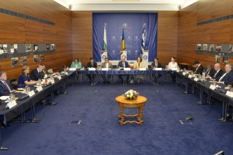 A schengeni csatlakozást sürgette a román, bolgár és görög külügyminiszter Bukarestben
