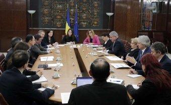 Dăncilă az IMF-küldöttség előtt: az új törvények hosszú távon biztosítják a nyugdíjrendszer fenntarthatóságát