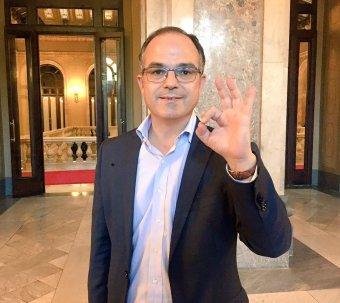 A katalán elnökjelölt párbeszédet ajánlott a spanyol kormánynak programbeszédében