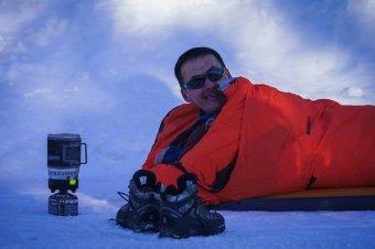 Az élet fontosabb: feladta az északi sarkköri ultramaratont a két nemzetet képviselő enyedi Polgár Levente