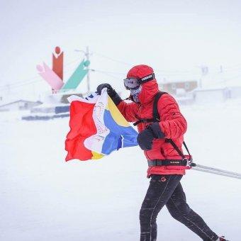 Államfői gratuláció a besztercei Tiberiu Uşeriunak, aki ismét megnyerte az északi sarkköri ultramaratont