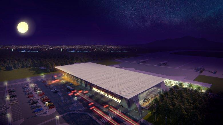 A közösségi médián keresztül közvetítik a brassói reptér építését