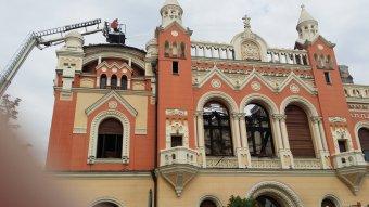 Megújul a váradi püspöki palota – három szakaszban zajlanak majd az impozáns épület újjávarázsolását célzó munkálatok