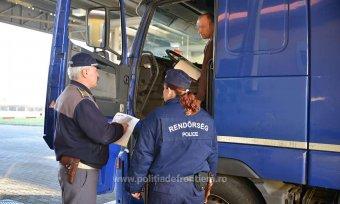 A magyar–román határ eltorlaszolásával fenyegetőznek a teherfuvarozók