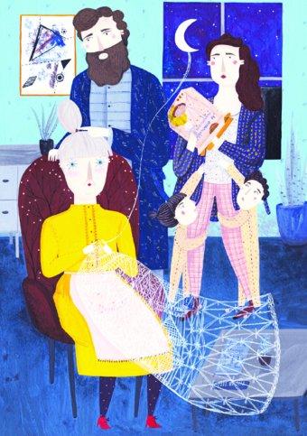 Összecsukható nagymama az elektronikus világban – bábszínházi előadás készült Szőcs Margit meséjéből