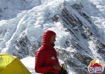 Himalája-expedíciók: Varga Csaba a kedvezőtlen időjárás miatt az alaptáborban vesztegel, Lengyel Ferenc jól halad a Manaszlun