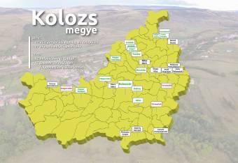 Tizenhét településen hiányzik a kétnyelvű tábla Kolozs megyében