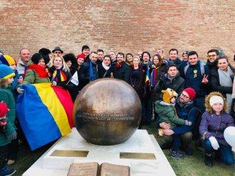 Centenáriumi üzenet: időkapszulát helyeztek el Gyulafehérváron a 2118-ban élő nemzedék számára