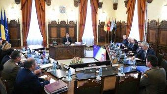 Felfüggesztette a Legfelsőbb Védelmi Tanács ülését Klaus Johannis államfő