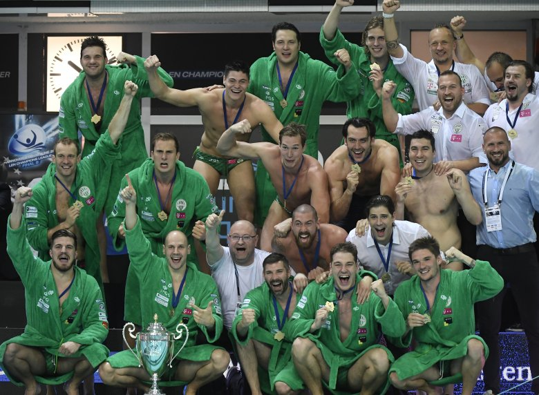 A Fradi megnyerte a vízilabda Bajnokok Ligáját