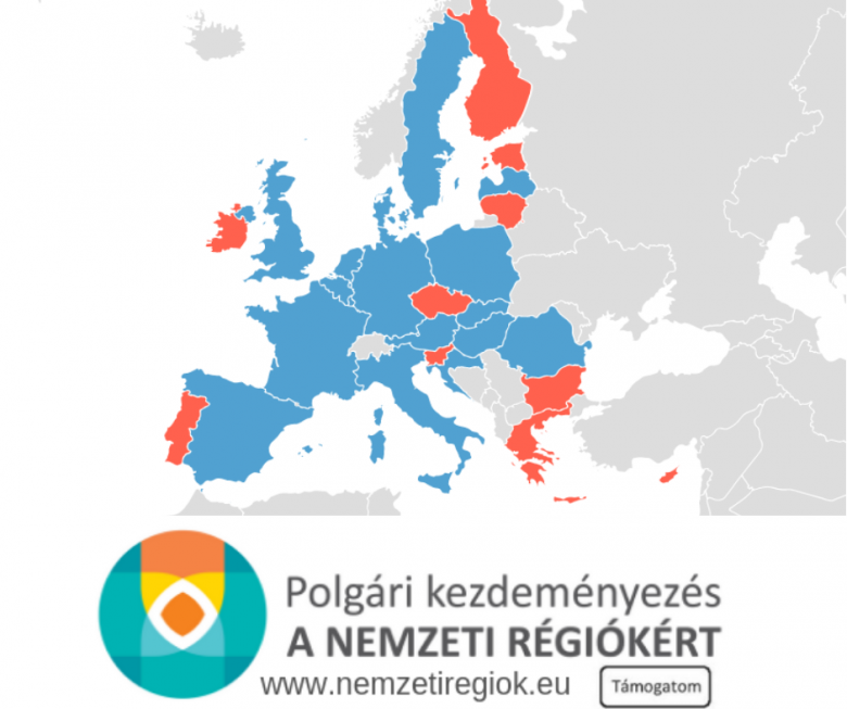 Nemzeti régiók: a kezdeményezők leadták a polgári kezdeményezés papíron gyűjtött aláírásait