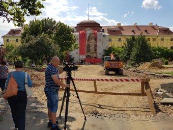 """""""Kizöldül"""" a nagyváradi katolikus püspöki palota: zöldenergiával fűtik és hűtik majd a felújított impozáns barokk épületet"""