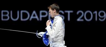 Szatmári András ezüstérmes lett a budapesti vívó-világbajnokságon
