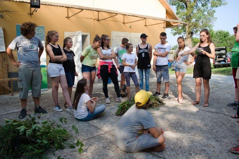 Bebarangolták a természetet a kalotaszegi ökotáborban