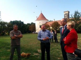 Folytatódhat a helyreállítás a bonchidai Bánffy-kastélyban – A magyar kormány a restaurálást, az EB kulturális projektet támogat