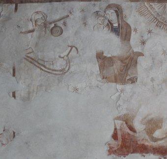 Értékes középkori falképeket restauráltak Gidófalván – Jézus élete, Szent László-legendája elevenedik meg a templom freskóin