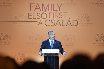 Orbán Viktor: ha nincsenek családok, akkor egy nemzeti közösség el tud tűnni