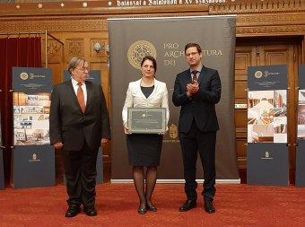 Pro Architectura díjjal jutalmazták a kolozsvári Vallásszabadság Háza tervezőit Budapesten
