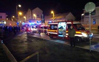 Tűzoltók is kórházba kerültek a szebeni bevásárlóközpont evakuálása után