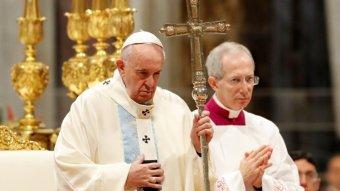 """Ferenc pápa önmérsékletre szólít a """"borzalmas"""" nemzetközi feszültségben"""