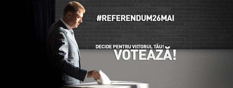 Közösségi oldalán buzdít a népszavazáson való részvételre Klaus Johannis államfő