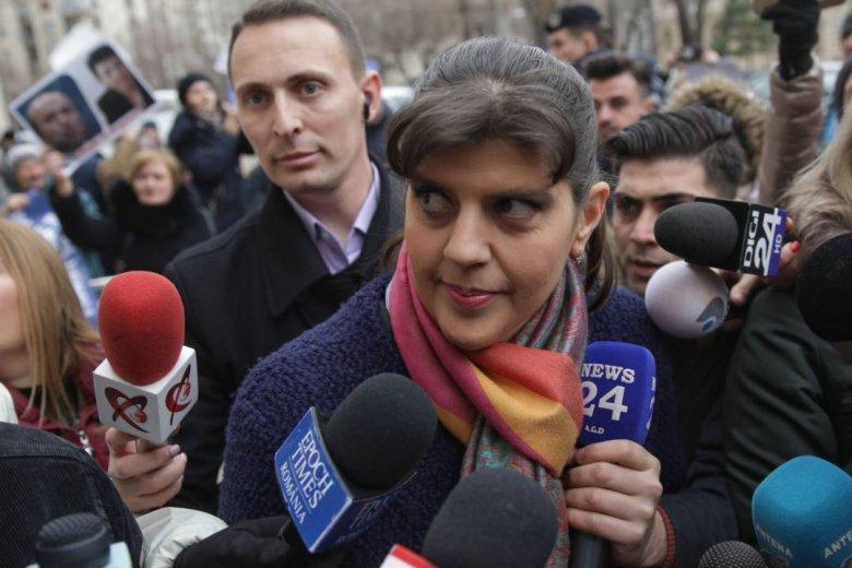 Hatósági felügyelet alá helyezték Laura Codruța Kövesit, akit nyilatkozatstopra is köteleztek
