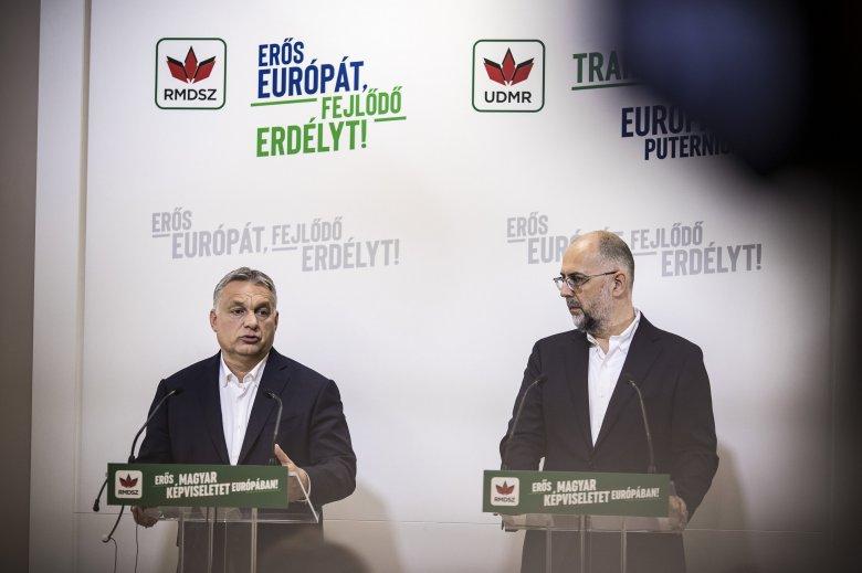 Ahogy várható volt, Orbán Viktor az RMDSZ-nek kampányolt