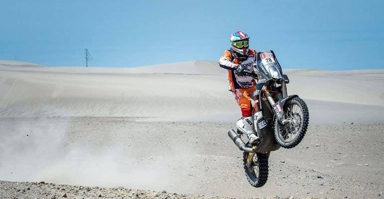 Elrajtolt a Dakar-rali mezőnye, jól szerepelt Gyenes a nyitófutamon