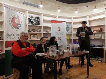 Bemutatták Borbély Ernő politikai foglyokról szóló román nyelvű könyvét Bukarestben