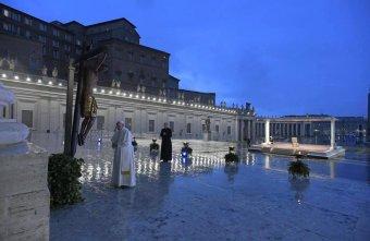 Idén is hívők nélkül zajlik a húsvét a Vatikánban a koronavírus-járvány miatt