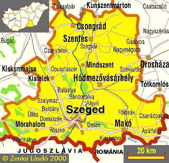 Csongrád-Csanádra változtatják Csongrád megye elnevezését a trianoni évforduló alkalmából