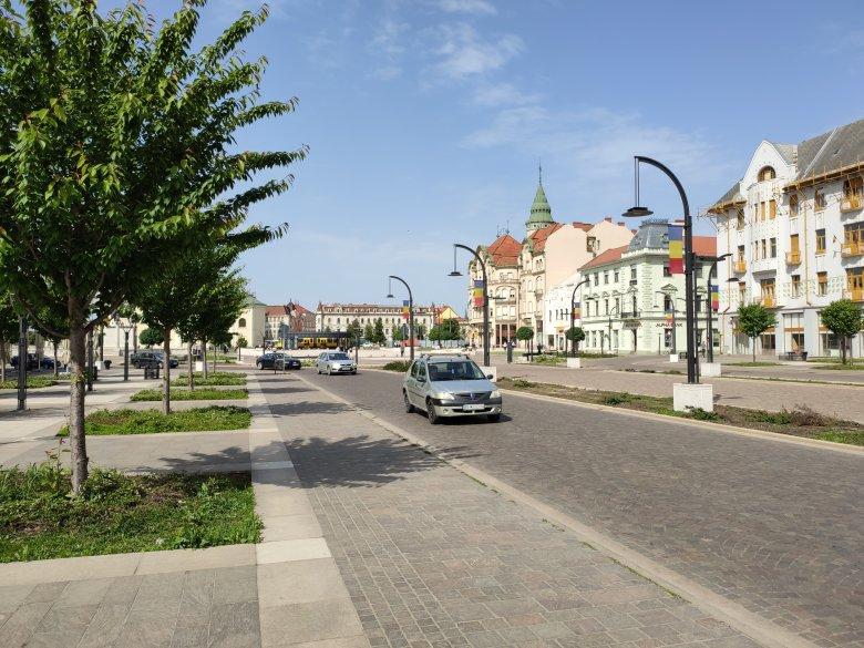 Karantén utáni belvárosi séta Nagyváradon