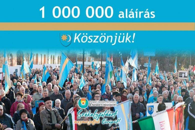 Óriási hajrával gyűlt össze interneten is az egymillió aláírás az európai polgári kezdeményezéshez
