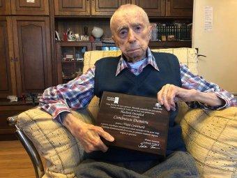 A bukaresti Dumitru Comănescu a legidősebb férfi a világon
