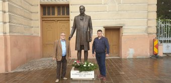 Leleplezték a szobrát, és teret is elneveznek a neves magyar építészről