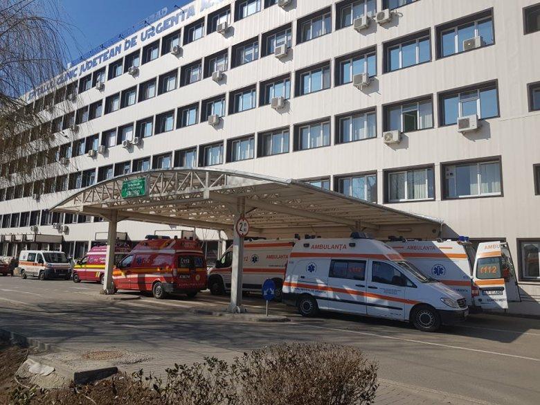 Felakasztotta magát egy koronavírus-fertőzéssel beutalt fiatal az aradi megyei kórházban