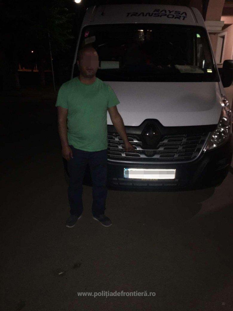 Török embercsempészt tartóztattak le a román hatóságok