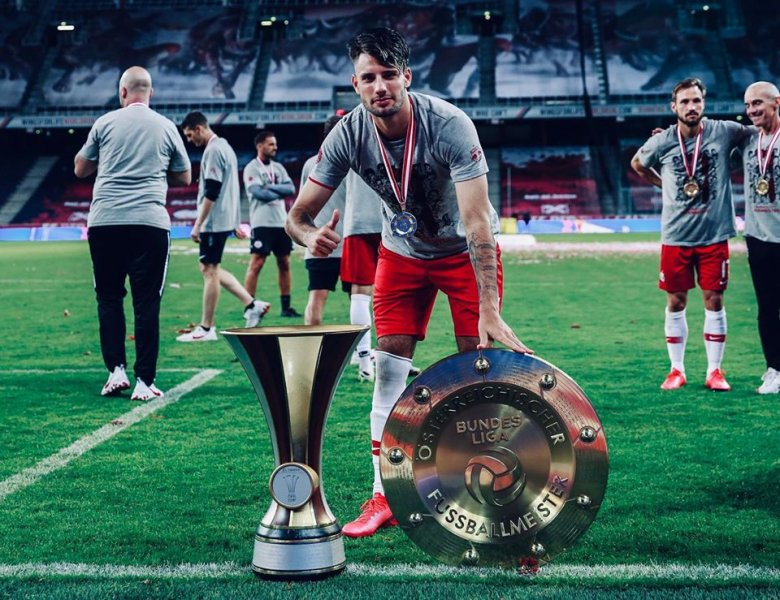 Szoboszlait az osztrák focibajnokság legjobbjának választották