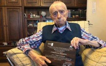 Elhunyt Dumitru Comănescu, a világ legidősebb férfija