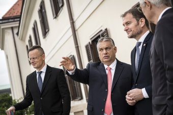 """""""Magyarok és szlovákok együtt akarnak sikeresek lenni"""" – Igor Matovicot fogadta Orbán Viktor"""