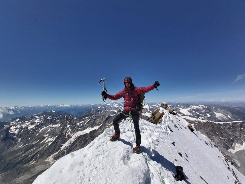 Elérte a Matterhorn csúcsát a kolozsvári Darabont Eduárd