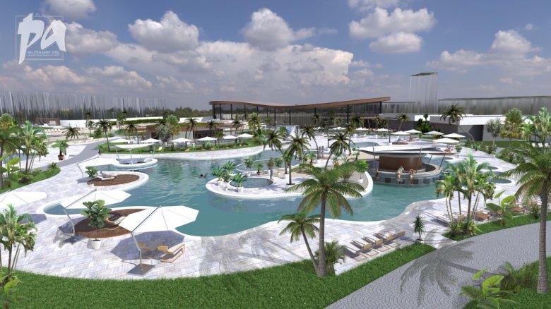 Olasz sziget fürdőhelyéről mintázták Nagyvárad újabb akvaparkját