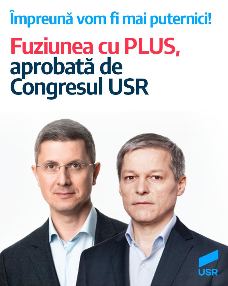 Kimondták az egyesítő igent: megszavazták az USR és a PLUS fúzióját