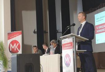 Forró Krisztián lett a felvidéki Magyar Közösség Pártjának új elnöke