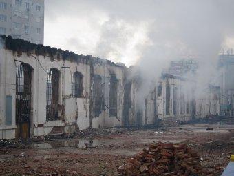 A lángok martalékává vált ipartörténeti műemlék helyreállítását követelik Nagyváradon