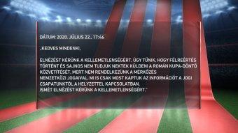 Perelni készül az M4 Sport a Román Kupa döntője közvetítésének elmaradása miatt
